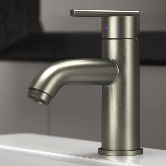 Wave Faucets - Bathroom Faucets - 753-BN Vessel Faucet - Brushed Nickel