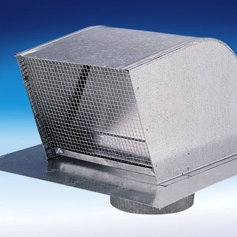 Fantech RC10 Galvanized Roof Cap for Round Duct - 10""