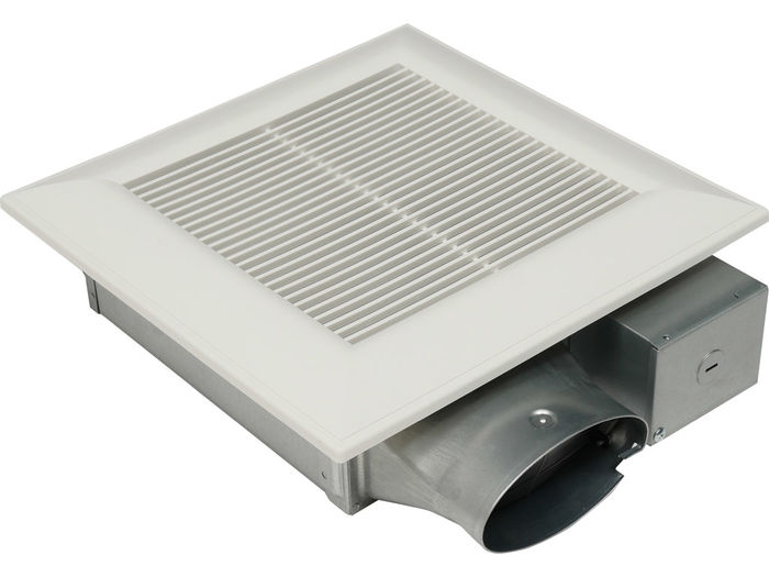 Panasonic Fans - WhisperValue - FV-0510VSC1 Bathroom Exhaust Fan - 50-80-100 CFM - 4 Inch Oval Duct