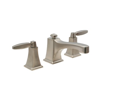 "Huntington Brass Bathroom Faucets - Platinum Signature - Intrigue W4560002-1 - 8"" Wide Spread Bath Faucet - PVD Satin Nickel"