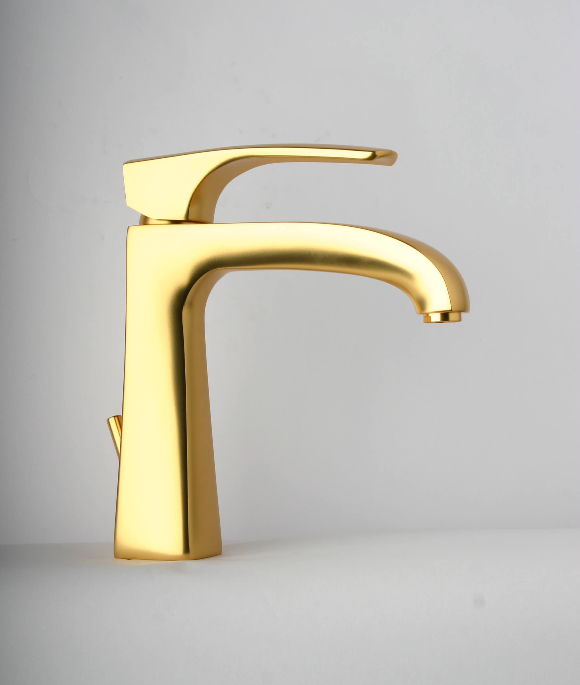 LaToscana by Paini Bathroom Faucets - Lady 89OK211 Single Control Lavatory Faucet - Satin Gold