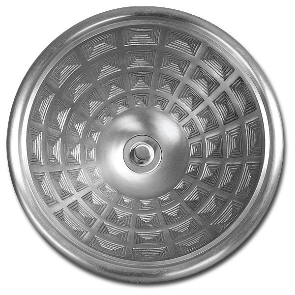 Linkasink Bathroom Sinks - Bronze - B034 Pantheon Bowl Round Small - 4 Finishes