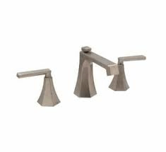 "Huntington Brass Bathroom Faucets - Platinum Signature - McMillan W4560502-1 - 8"" Wide Spread Faucet - PVD Satin Nickel"