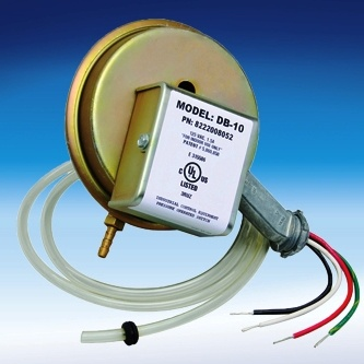 Fantech DB 10 Dryer Booster Pressure Switch