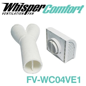 Panasonic FV-WC04VE1 WhisperComfort Wall Cap for ERV