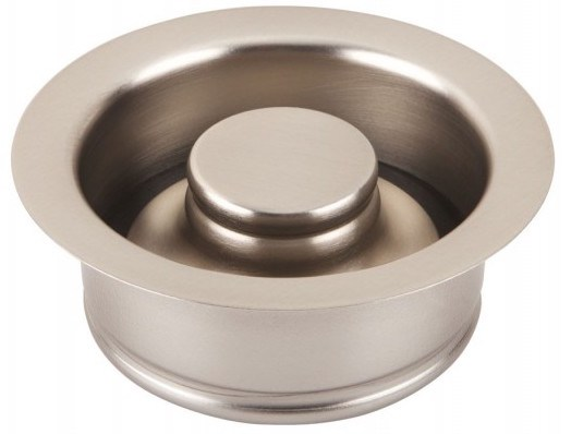 Thompson Traders Kitchen Drain - TDD35-BRN - Disposal Flange and Stopper - Brushed Nickel
