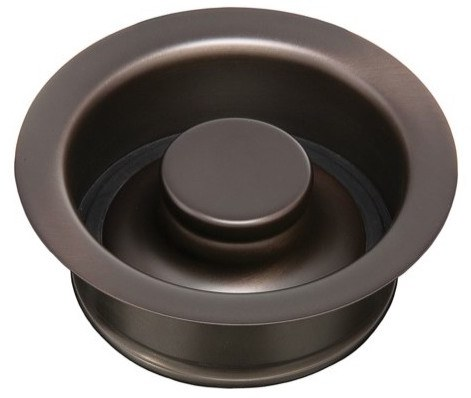 Thompson Traders Kitchen Drain - TDD35-OB Disposal Flange and Stopper - Oil-Rubbed Bronze