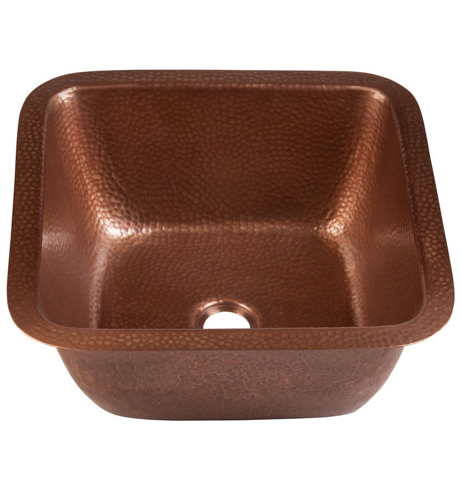 Thompson Traders Copper Bar & Prep Sink - Renovations Picasso 1SAC - Antique Copper