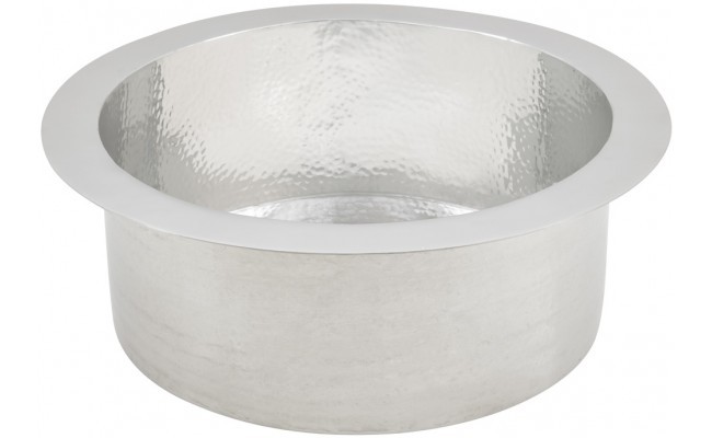 Thompson Traders Sinks - Kitchen Bar & Prep - Hammered Stainless Steel - Napoli PU-1708HSS