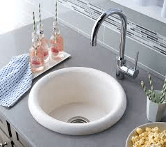 Native Trails Stone Kitchen Sinks - NativeStone Pozo - NSB1608-P - Pearl