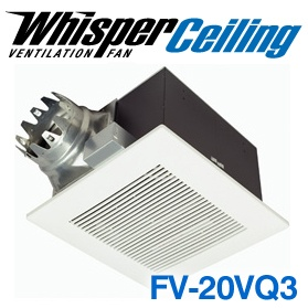 Panasonic Fans - FV-20VQ3 WhisperCeiling Bathroom Ventilation Exhaust Fan - 190 cfm - 1.3 Sones - 6 Inch Duct