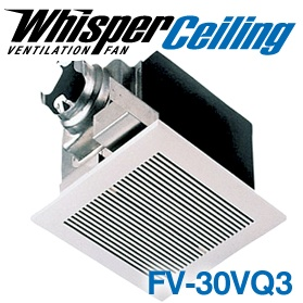 Panasonic Fans - FV-30VQ3 WhisperCeiling Bathroom Ventilation Exhaust Fan - 290 cfm - 2.0 Sones - 6 Inch Duct