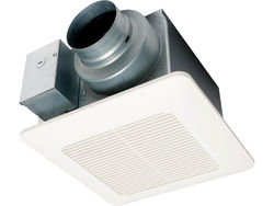 "Panasonic Fans - WhisperCeiling DC - FV-0511VQL1 Precision Spot Ventilation Fan/Light - 50-80-110 CFM - 4"" or 6"" Inch Duct"
