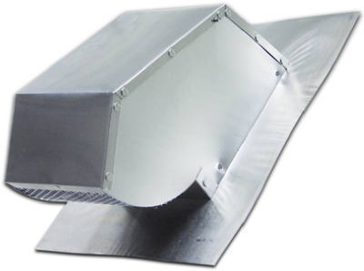 "Lambro Industries - Roof Caps - Aluminum with Damper & Screen - Fits up to 7"" Diameter Duct - Model 116"