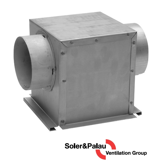 S&P Soler & Palau Ventilation Fans - Dryer Boosting - Dryer Booster Lint Trap LT-100