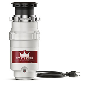 Waste King Garbage Disposal - 111 One Third HP Legend Series Garbage Disposer