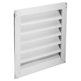 "Lambro Industries Wall Caps - Polypropylene Plastic 6"" White Air Intake Vent - Model 606W"