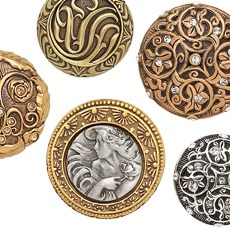 Edgar Berebi - Decorative Hardware Collection - Assorted Knobs