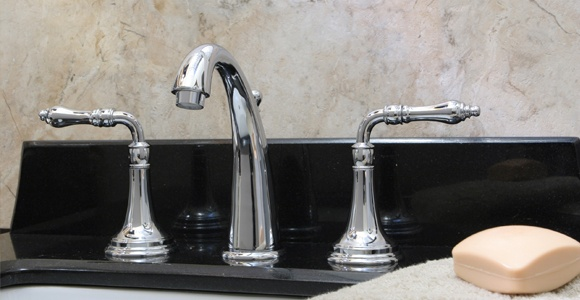 Huntington Brass Bathroom Faucets - Platinum - Jewel