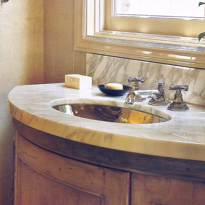 Linkasink Sinks - Hammered Stainless Steel Bath