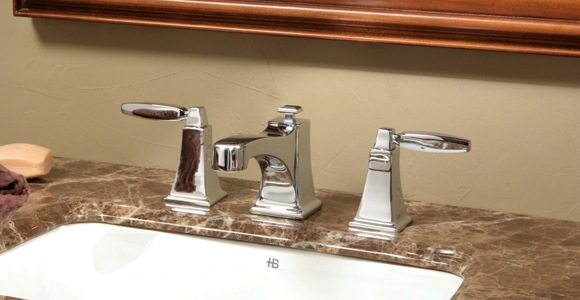 Huntington Brass Bathroom Faucets - Platinum - Intrigue