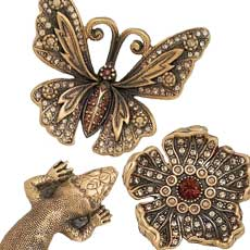 Edgar Berebi - Decorative Hardware Collection - Flora & Fauna