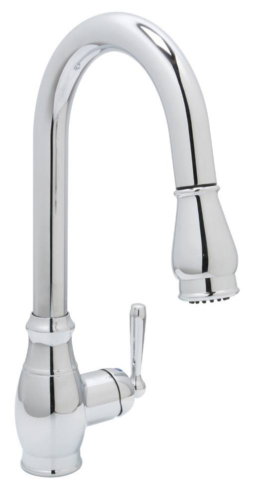 Huntington Brass Kitchen Faucets - Decor Isabelle K4811001-D - Pull-Down Kitchen Faucet - Chrome