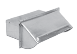 "Lambro Industries Wall Caps - Aluminum 3.25"" x 10"" Builder Pack - Damper Spring Controlled Model 1060"