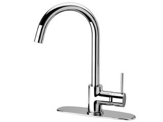 LaToscana by Paini Kitchen Faucet - Elba 78CR591 Pull Down Spout - Chrome