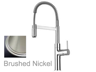 LaToscana by Paini Kitchen Faucet - Elba 78PW556 Spring Spout - Brushed Nickel