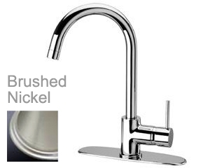 LaToscana by Paini Kitchen Faucet - Elba 78PW591 Pull Down Spout - Brushed Nickel
