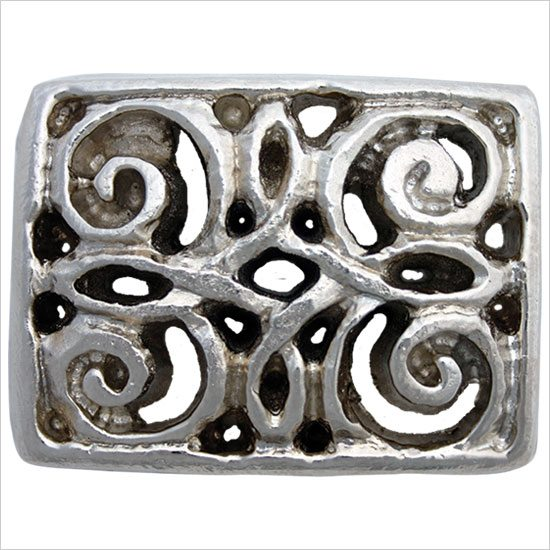 Linkasink Drain - Bathroom D115 Metal Scroll Decorative Bathroom Sink Drain