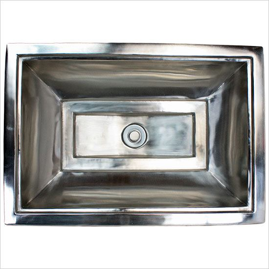 Linkasink Bathroom Sinks - Vintage Jeweler - B039 Tiffany Sink - B039-PS Polished Stainless Steel
