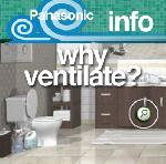 Panasonic Bathroom Fan Information - Why Ventilation is Necessary