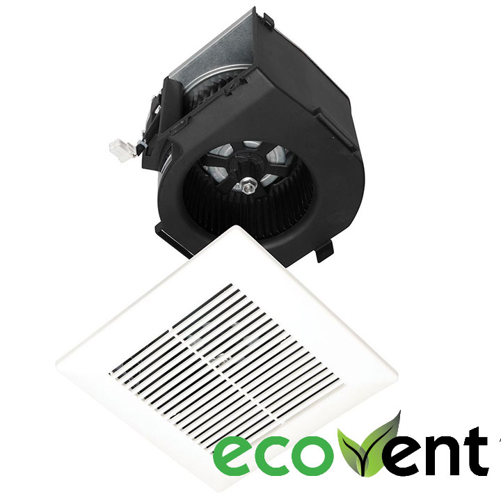 Panasonic Fans - EcoVent - FV-07VBB1 Finish Trim Kit 70 CFM Motor, Grille Assembly for FV-07VBA1 Housing - Contractor 4-Pack