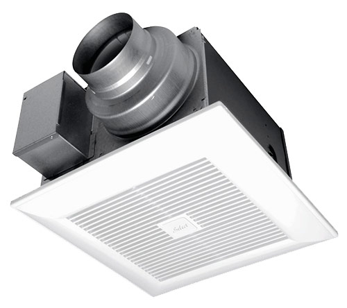 "Panasonic Fans - WhisperGreen Select FV-05-11VKS1 Bathroom Exhaust Fan - 30-110 cfm - Integrated Multi-Speed - 4"" & 6"" Duct"