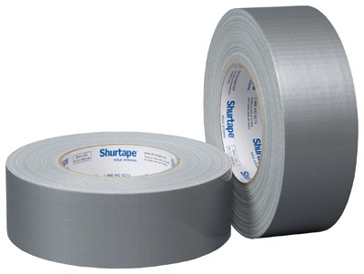 "Shurtape Duct Tape - PC 600 SIL 2 x 60 (2"" x 60 yards) - Silver PC600"