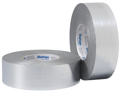"Shurtape Duct Tape - SF 682 2 x 60 (2"" x 60 yards) - Silver SF682"