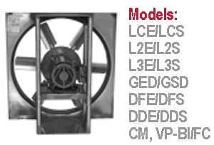 S&P Soler & Palau Commercial - Sidewall Propeller & Utility Fans