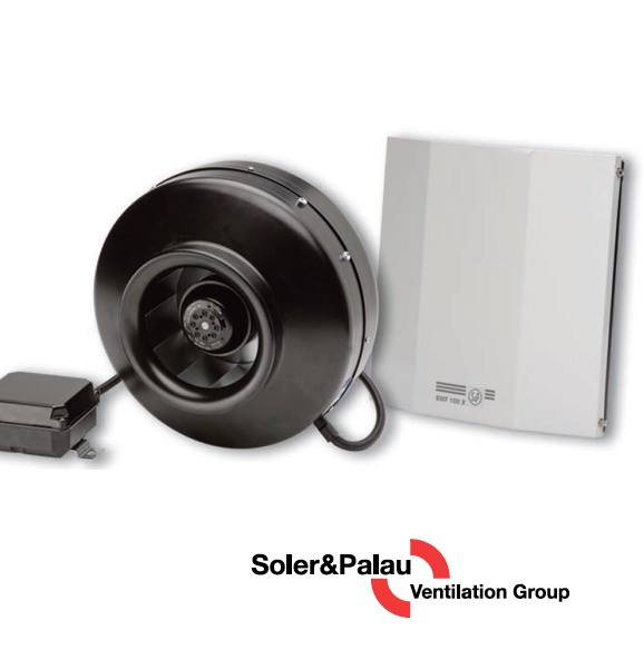 S&P Soler & Palau - Inline Centrifugal Fans
